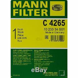 10l Mannol 5w-30 LL + Break Mann-filter Mercedes-benz Vito / Mixto Box 122 CDI