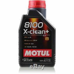 11 The Motul 5w-30 Motor Oil + Mann-filter Mercedes-benz Vito Bus W639