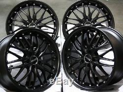 18 Stealth 815kg Alloy Wheels For Mercedes M Class V Vito Vw Transporter T4