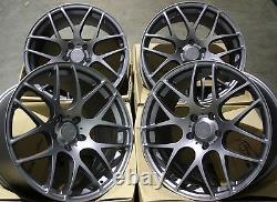 19 Gm Ms007 Alloy Wheels For Mercedes A B C E R Class Cla Gl Glk Viano Vito