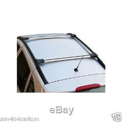 2 Roof Bars Cross Alu Brush Mercedes Vito / Viano W639 And W447