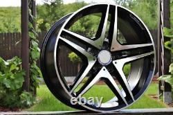 4 Parts Rims 18' 5x112 Mercedes Gla Glc ML R V Viano Vito (ffdig)