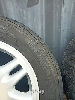 4 Wheels 16 Inches Vito/viano With Nokian Wrc3 Tires