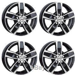 4 Wheels Autec Quantro 7.5x18 5x112 Swp For Mercedes-benz V Viano Vito
