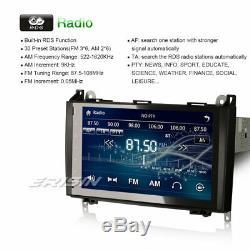 7 Car Bluetooth Gps For Mercedes A / B Class W169 W245 Vito Viano Sprinter