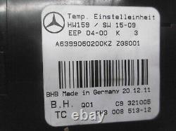 Air Conditioning Control Unit Mercedes Control Unit Vito Viano #17
