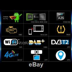 Android 9.0 Car Gps Tnt Dab + Usb Bt Mercedes C / Clk / G Class W209 Vito Viano