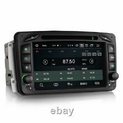 Android Radio 10.0 With Apple Carplay Via Usb, Dab+ Mercedes Clk, Vito, Viano