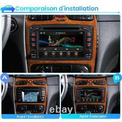 Autoradio For Mercedes-benz C/clk/g Class W203 W209 Vito Viano Dab DVD Gps Bt
