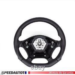 Black Leather-wrapped Steering Wheel Flying Mercedes Viano W639