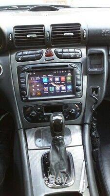 Car Gps Mercedes Class C, Clk, Vito, Viano Android 7.1 Wifi