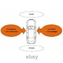 Centre/rear Bumper With Mercedes Viano/vito Radars 2010-2014