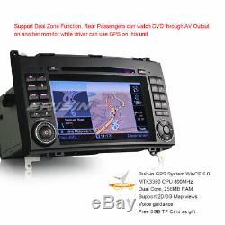Dab + Radio Bluetooth DVD Gps Mercedes A / B Class W169 W245 Vito Viano Sprinter