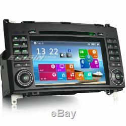 Dab + Radio Gps Mercedes A / B Class W169 W245 Vito Viano Sprinter Bluetooth CD