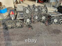 Double Air Cond Electric Fan, Mercedes Vito/viano W 639