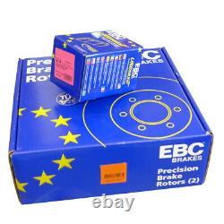 Ebc B02 Rear Brake Kit Disc Coatings For Mercedes-benz Viano