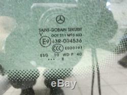 Fixed Side Window Drive Rear Left For Mercedes W639 Vito Viano 04-10