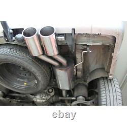 Fox Escape Sport Inox Silent Mercedes Vito Viano W639 2x115x85mm
