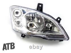Headlights With Right Servo Motor For Mercedes Vito Viano W639 2010- New