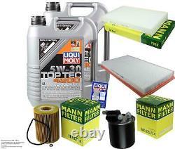 Liqui Moly 10l 5w-30 Oil - Mann-filter For Mercedes-benz Vito Bus W639