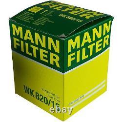 Liqui Moly 10l 5w-30 Oil - Mann-filter For Mercedes-benz Vito Bus W639 122
