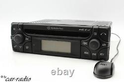 Mercedes Audio 10 CD Mf2910 Bluetooth Mp3 Radio With 12v Rds Microphone