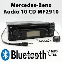 Mercedes Audio 10 CD Mf2910 Mp3 Bluetooth With Micro Aux-in Sans Cd-funktion