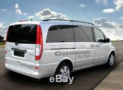 Mercedes Viano Vito W639 Long From The Year 2003 Aluminum Rails With Tüv