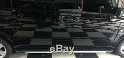 Mercedes Vito 2003+ Short Steps Aluminum Bars Latera On Foot