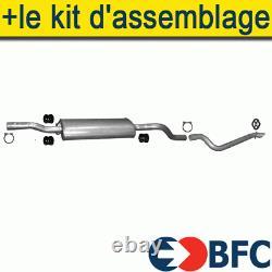 Mercedes Vito 639 2.2 88/109/150cv 2003- Silencer+ Exhaust Line