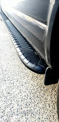 Mercedes Vito Long 2003+ Steps Aluminum Bars Latera On Foot
