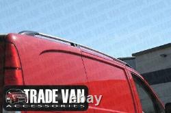 Mercedes Vito Roof Rail Roof Bars Aluminium Long Model W639