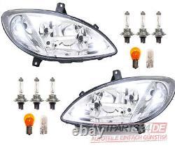 Mercedes Vito Viano Inklu Left And Right Light Kit. All Bulbs