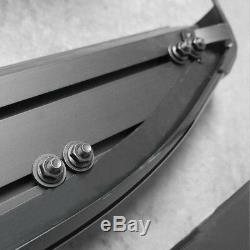 Mercedes Vito / Viano W447 2015- Running Boards Aluminum Black, Non-slip, Extra Long