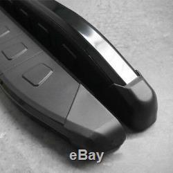 Mercedes Vito / Viano W447 2015- Running Boards Aluminum Black, Non-slip, Short