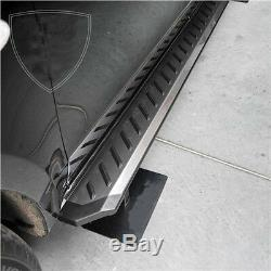 Mercedes Vito / Viano W447 2015- Running Boards Stainless Steel, Non-slip Gill, Middle