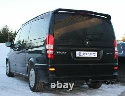 Mercedes Vito/viano W639 (not Compact) Stainless Steel Sport Exhaust Duplex Type