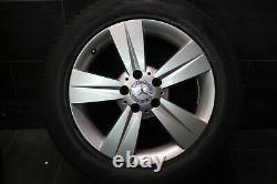 Original Mercedes Class V Vito W639 Rims Nine Winter Tyre 225 55 R17 101v