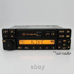 Original Mercedes Exquisit Be1690 Becker Cassette Autoradio A0038205686 02 Rds