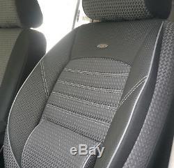 Protective Seat Covers Mercedes Vito Viano W639 Two Single Seats