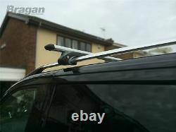 Roof Bars - Cross Lock For Mercedes Vito Viano 2014 Elwb Van Alu