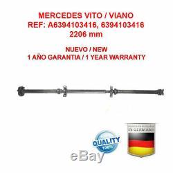 Shaft Mercedes Vito Viano W639 A6394103416 / Brand New Propshaft