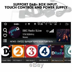 Tnt Android 8.1 Radio Dab + 4g Bt Navi Mercedes G / C-class W209 Clk Viano Vito