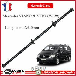 Transmission Shaft 2441 MM To 2441mm Mercedes Vito Viano W639 + Bearing