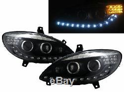 V-class Vito W639 Mk2 03-10 5d Led Lights Bar Before Lighthouse Bk For Mercedes-benz Rhd