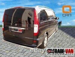 Viano Mercedes Vito Truck Rear 70mm Big Bar Protection