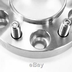 4X 20mm 5x112 PCD Elargisseurs de voie M14x1.5 CB 66.6mm Pour MERCEDES Benz AUDI