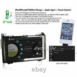 9 Autoradio Bluetooth TNT USB Radio DVR Mercedes A/B Classe Sprinter Viano Vito