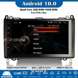 9 DSP DAB+Android 10.0 Autoradio GPS Mercedes Benz A/B Class Viano Vito Crafter