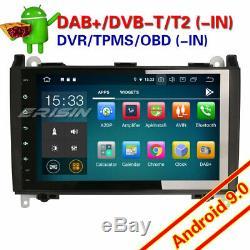 9Android 9.0 Autoradio DAB+4G GPS Mercedes Classe A/B Vito Sprinter Viano W245